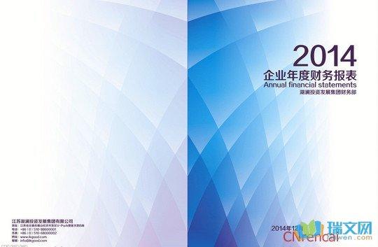 财务分析报告封面